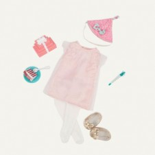 Birthday Surprise - Our Generation Dolls Deluxe Outfit