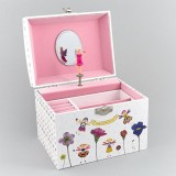 Musical Jewellery Box Petal Fairy