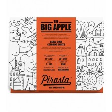 Pirasta The Big Apple Colouring Sheets