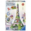 Ravensburger Eiffel Tower 3D Pop Art Puzzle 216pcs