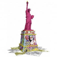 Ravensburger Statue of Liberty 3D Puzzle Pop Art Edition