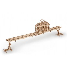 UGEARS - Tram with Rails
