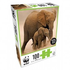 WWF Animal 100 Pc Puzzles - Baby Elephant