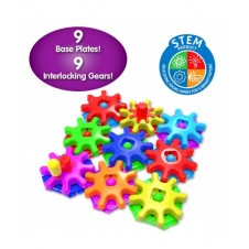 Techno Kids Stack & Spin Gears Set