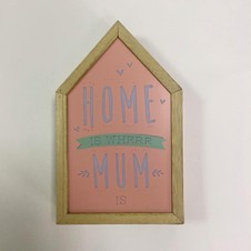 Home is Where Mum is - Light Box